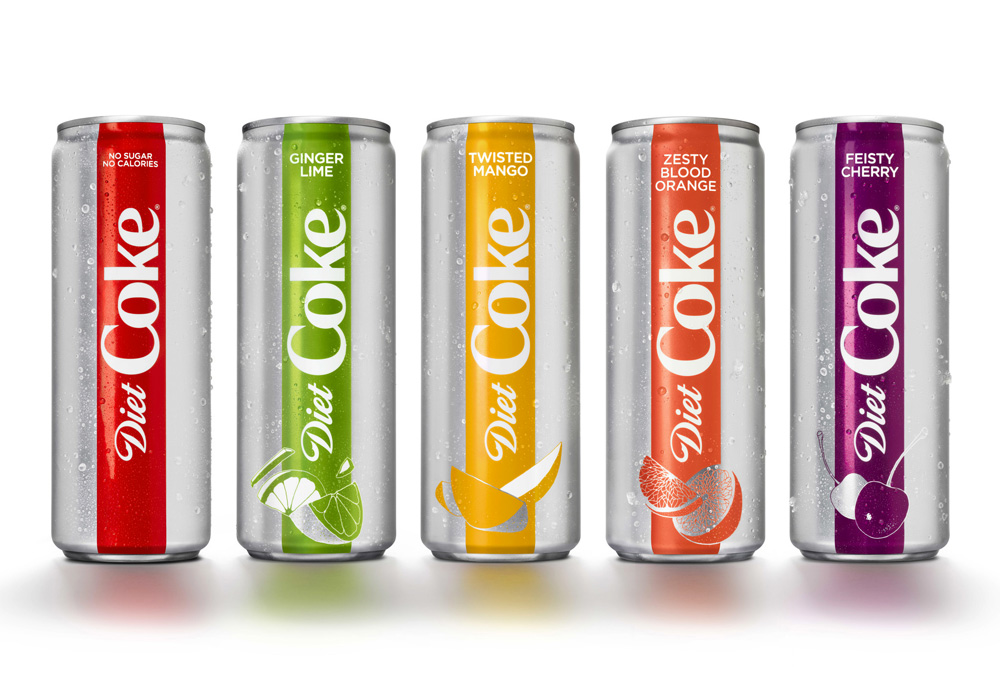 Diet Coke New Flavors 2018